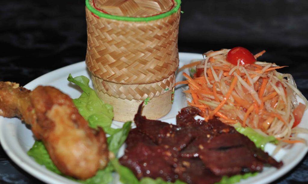 Menus et desserts mille elephants restaurant asiatique - Cuisine thailandaise traditionnelle ...